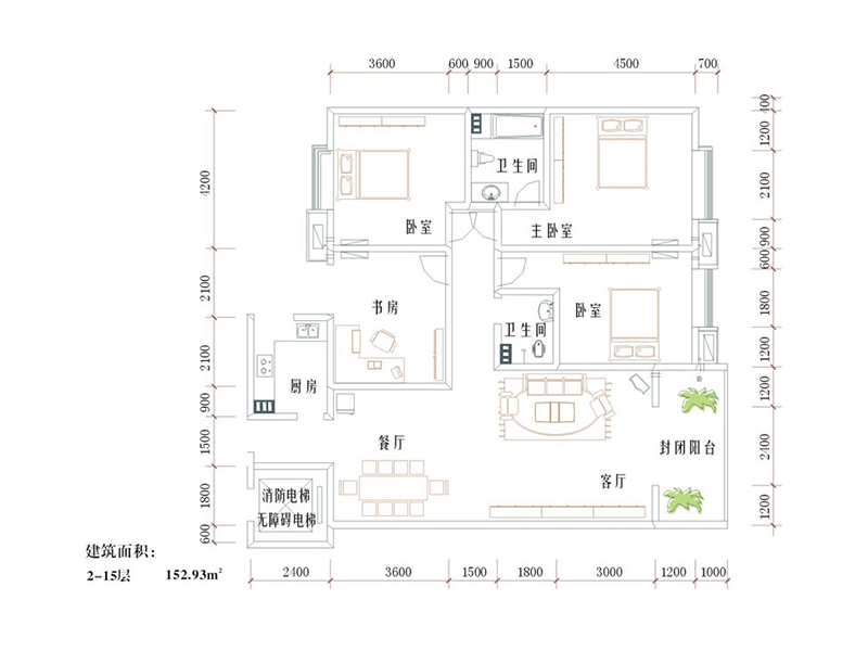 Floor Plan DM (1st Floor) 16